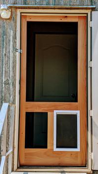 Sliding Barn Screen Door