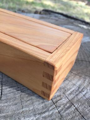 Small Cedar Cigar Box