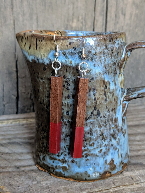 Dipped Bar Earrings