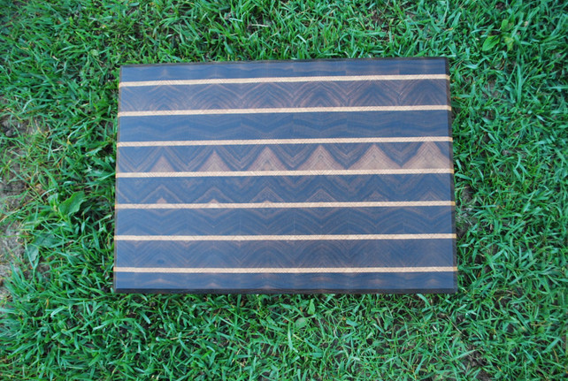 Walnut and Oak End Grain Cutting Board
