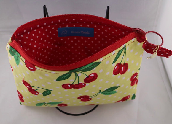 Cherries pouch - 8x6 inches