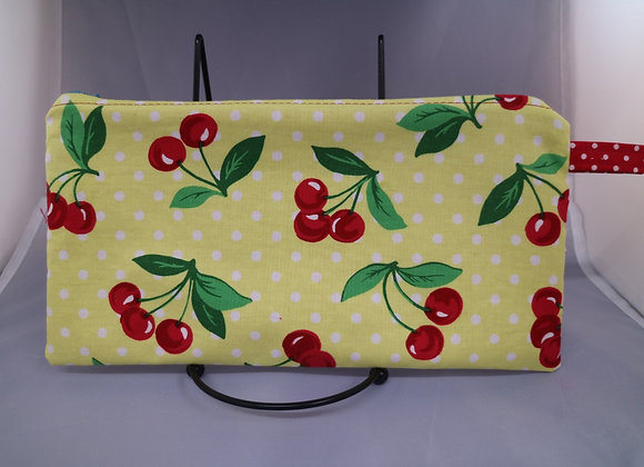 Cherries pouch-10x5 inches