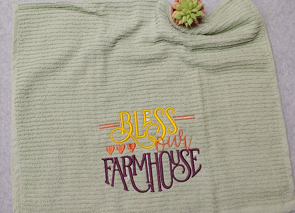 Bless Our Farmhouse Kitchen Towel