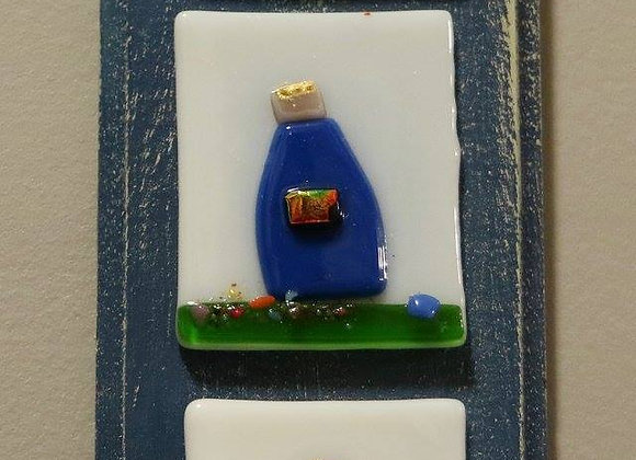 Reyes Plaques - blue/white