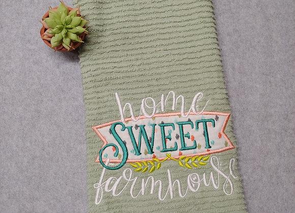 Home Sweet Farmhouse Kitchen Towel