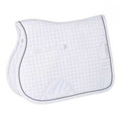 CALDENE SADDLEPAD CROCODILE GP WHITE