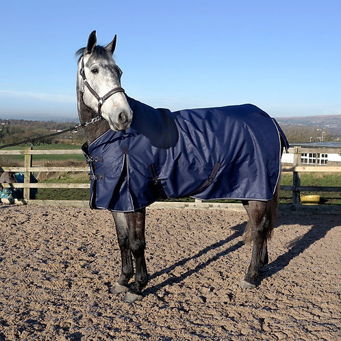 WHITAKER TURNOUT RUG STANDARD NECK FIRGROVE 200 GM BLACK