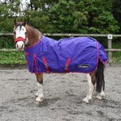 WHITAKER TURNOUT RUG LIGHTWEIGHT ARMLEY 50 GM CLEMATIS BLUE