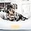Thumbnail: CHENILLE DOG BED - DALTON NEST