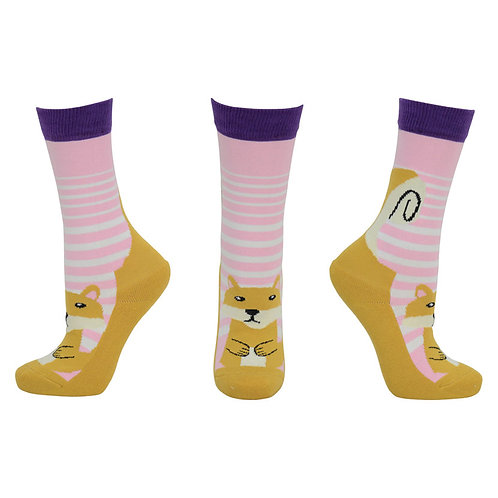 HyFASHION Mr Foxy Socks (Pack of 2)