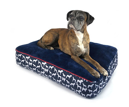 WHITAKER DOG PILLOW STANBURY NAVY