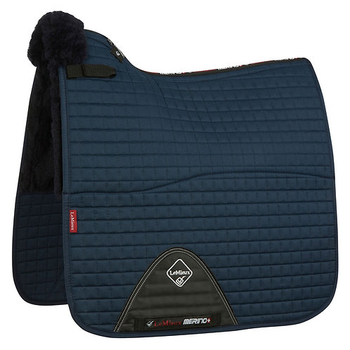 LeMieux Merino+ Half Lined Cotton Dressage Square