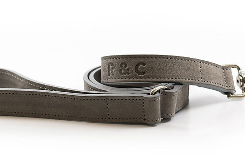 RALPH & CO DOG LEAD NUBUCK STANDARD
