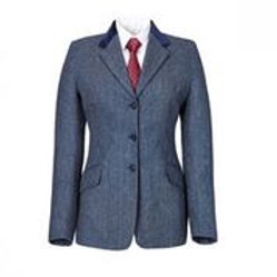 CALDENE COMPETITION JACKET SILVERDALE TWEED BLUE