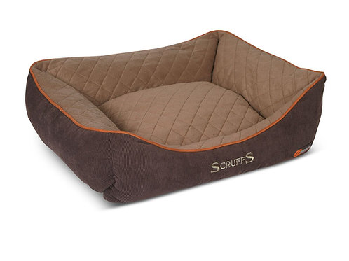 SCRUFFS THERMAL BOX BED BROWN