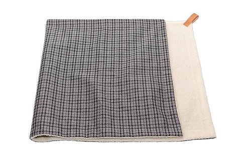 RALPH & CO DOG BLANKET MARLOW LARGE GREY TWEED