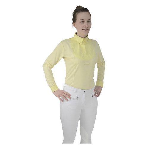 HyFASHION Ladies Dedham Long Sleeved Tie Shirt