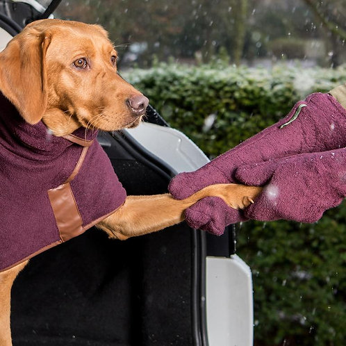 Dog Drying Mitts