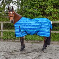 W-HORSE TURNOUT RUG LIGHTWEIGHT FINN 50 GM WAVES