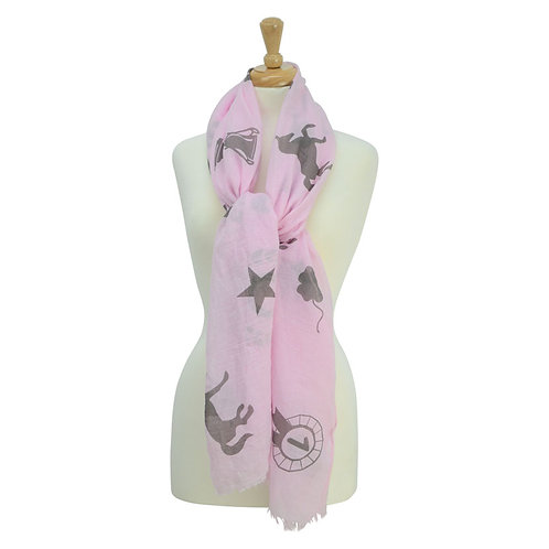 HyFASHION Ladies Balmoral Scarf