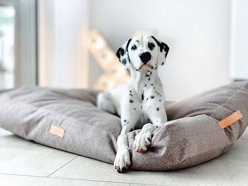 CHENILLE DOG BED - DALTON PILLOW