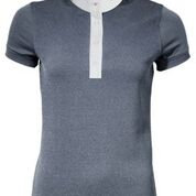 MARK TODD COMPETITION POLO SHIRT ALICIA LADIES GREY