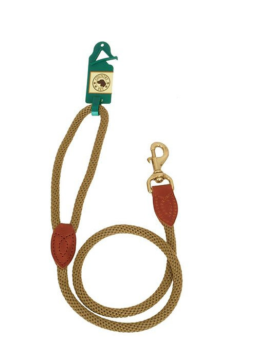 COUNTRY PET LUXURY ROPE TRIGGER LEAD