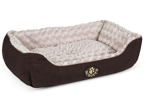 SCRUFFS WILTON BOX BED BROWN