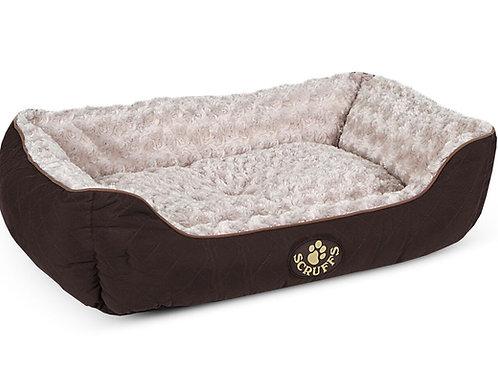 SCRUFFS WILTON BOX BED BROWN
