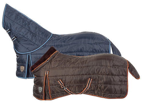 Tattini Stable Rug With Neck In Synthetic Lambswool