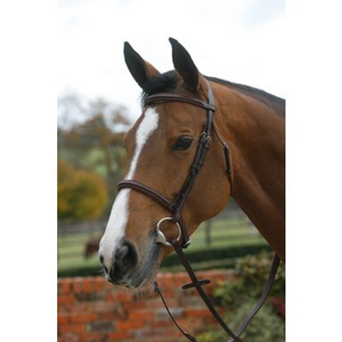 MARK TODD BRIDLE PLAIN RAISED WITH CAVESSON NOSEBAND