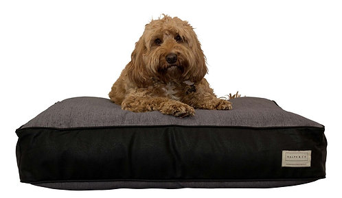RALPH & CO PILLOW BED FAUX LEATHER CODIE