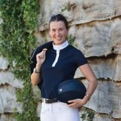 MARK TODD COMPETITION POLO SHIRT ALICIA LADIES NAVY