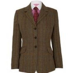 CALDENE COMPETITION JACKET SOUTHWOLD TWEED BROWN
