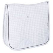 CALDENE SADDLEPAD CROCODILE DRESSAGE WHITE