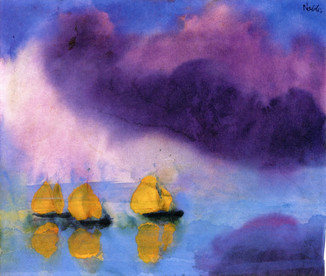 Painting of Emil Nolde