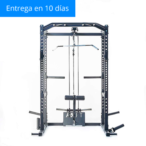 H Rack + Accesorios + Lat Pulldown / Low Row