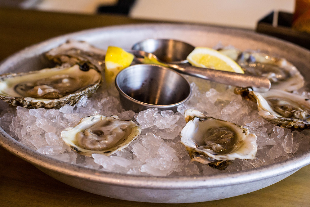 Buck-a-shuck oysters from Ella's Oysters