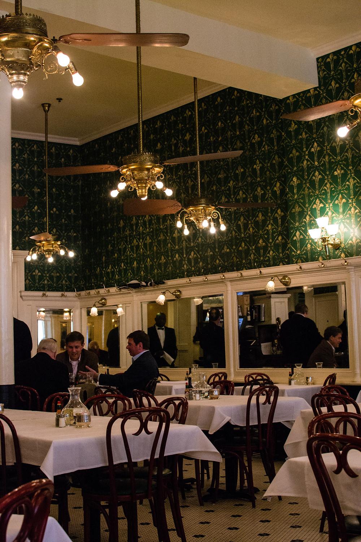 Galatoire's main dining room