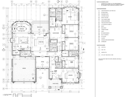 Palmtag Residence- Proposed Floor Plans