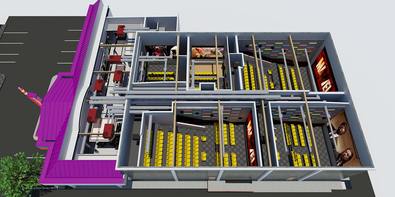 3-D Model Interiors