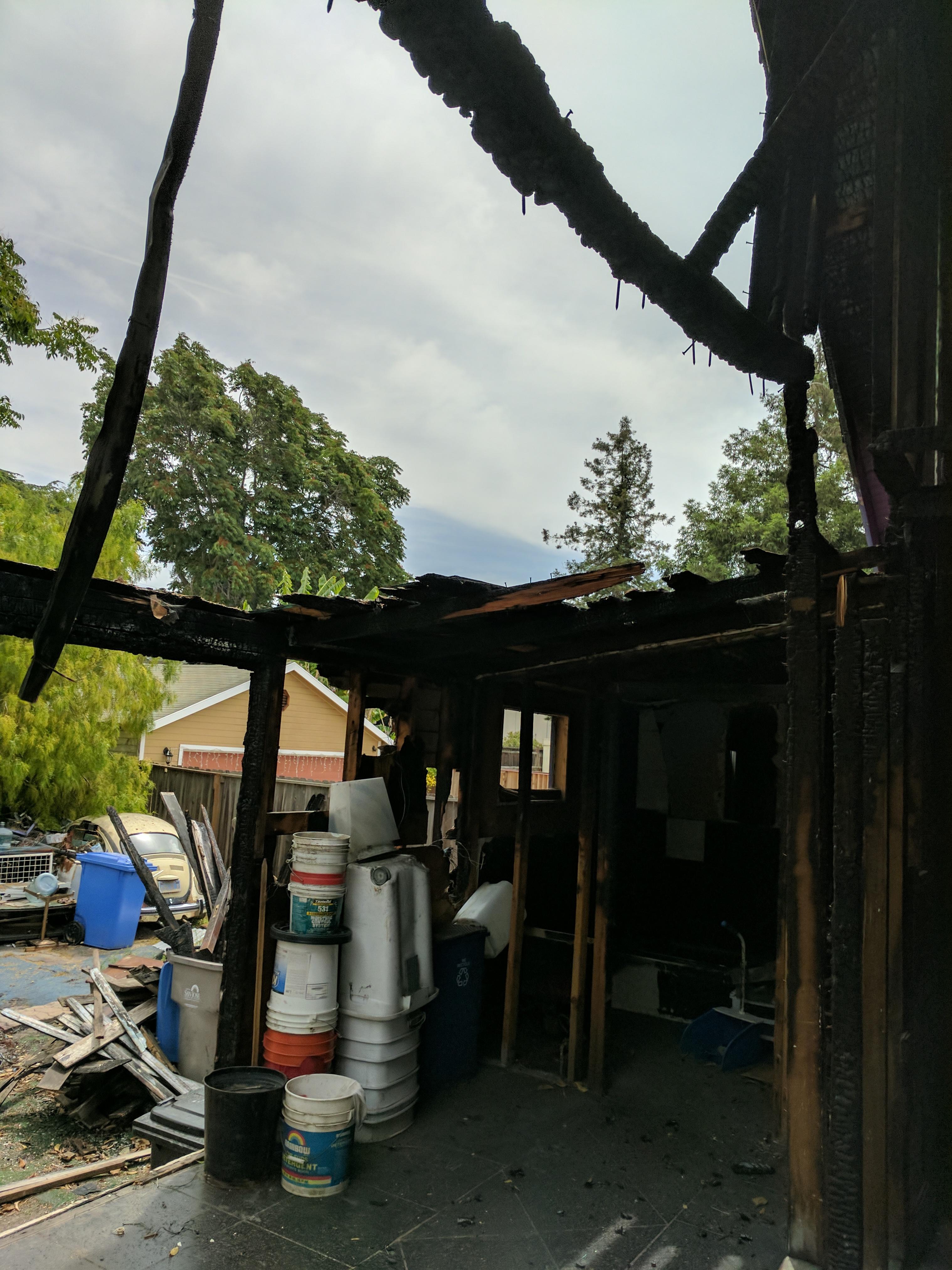 10th Street Fire Damage