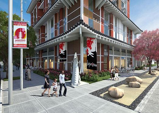Gkw Architects - JC Tower- Street Level-
