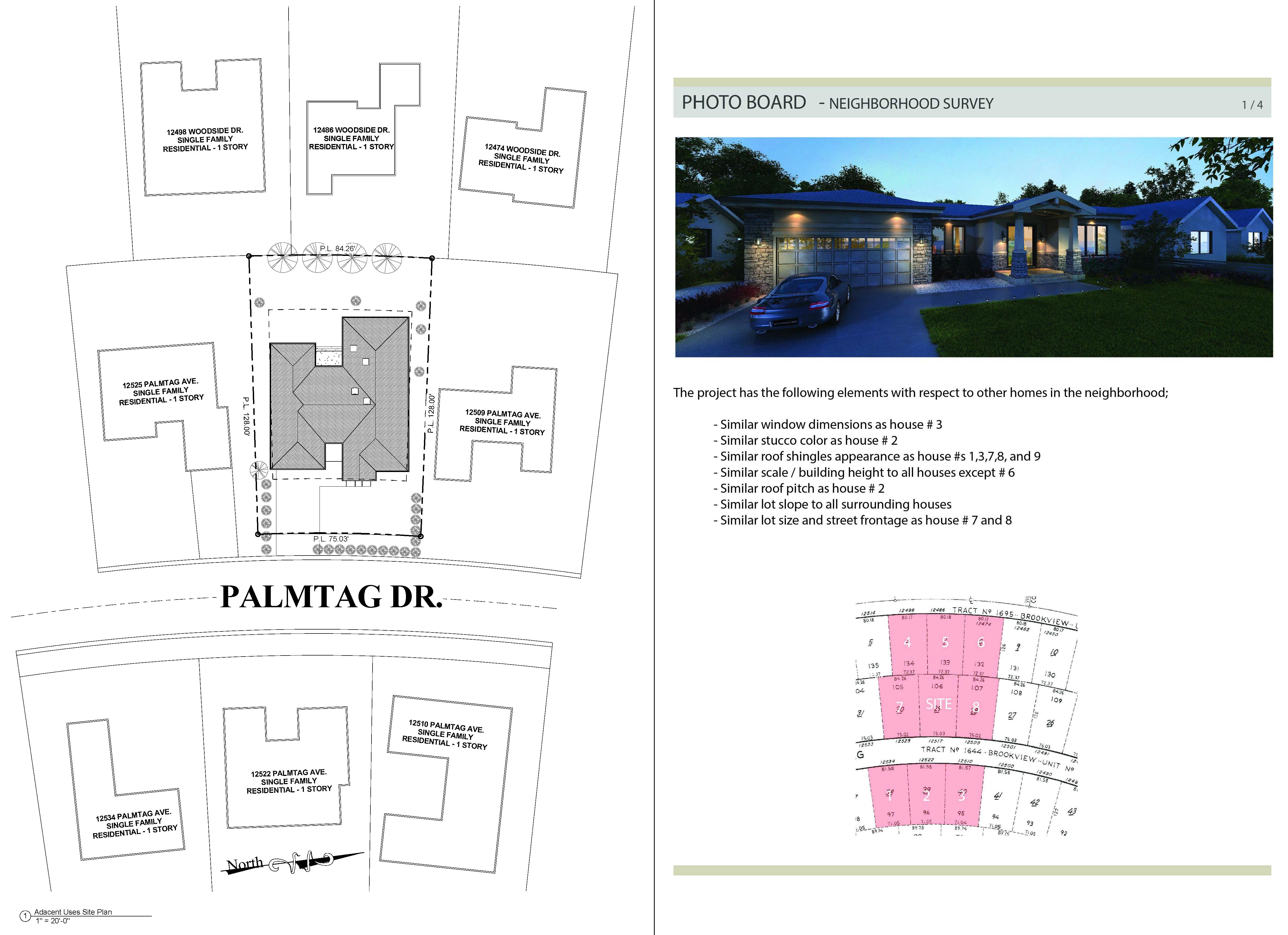 Palmtag Residence- Site Plan