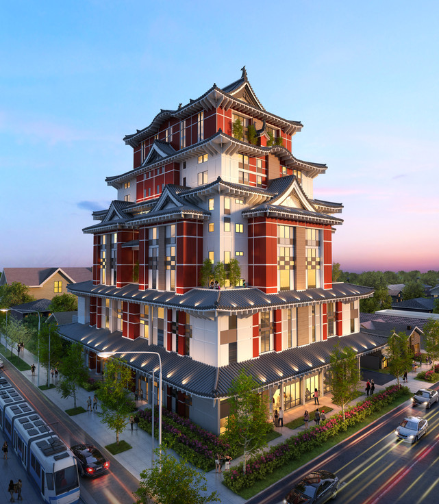 Japan Town Mid-Rise Tower