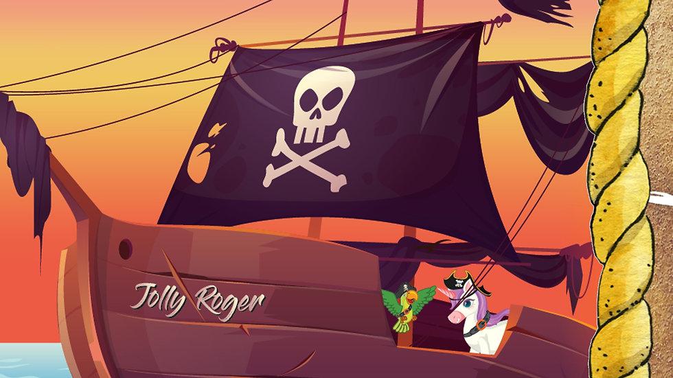 Das Pirateneinhorn und der Zauberer