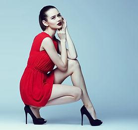 ドレスモデル