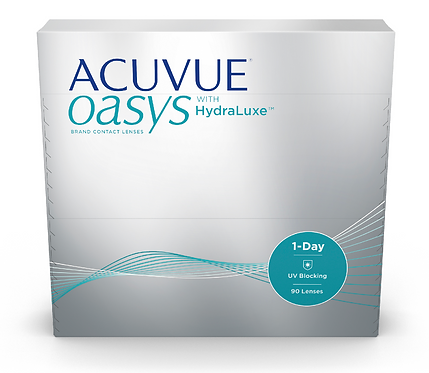 Acuvue Oasys 1-Day with HydraLuxe 90 Pk