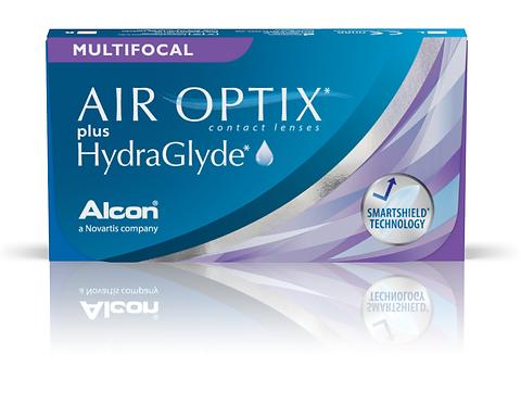 Air Optix Plus HydraGlyde Multifocal 6 Pk