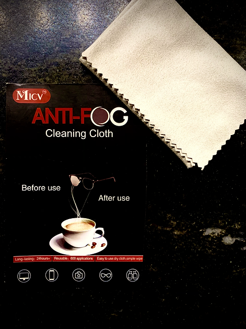 Anti-Fog Cleaning Cloth